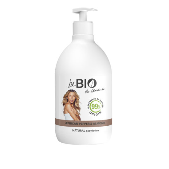 Natural Body Lotion AFRICAN PEPPER-ALMOND-400