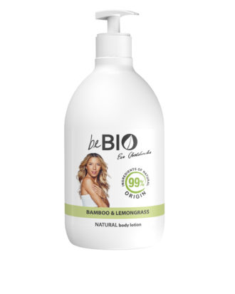 Natural Body Lotion BAMBOO-LEMONGRASS-400