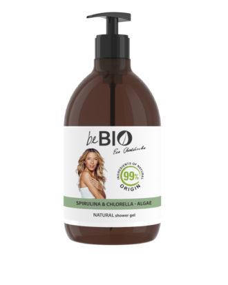 Natural Shower Gel SPIRULINA- CHLORELLA-ALGAE-400
