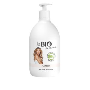 NATURAL BODY LOTION LINSEED 400ML