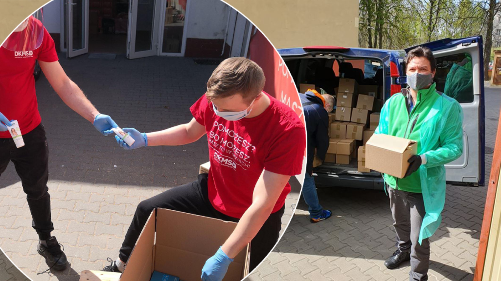 Ewa Chodakowska wspiera tych, którzy najbardziej potrzebują pomocy w dobie epidemii